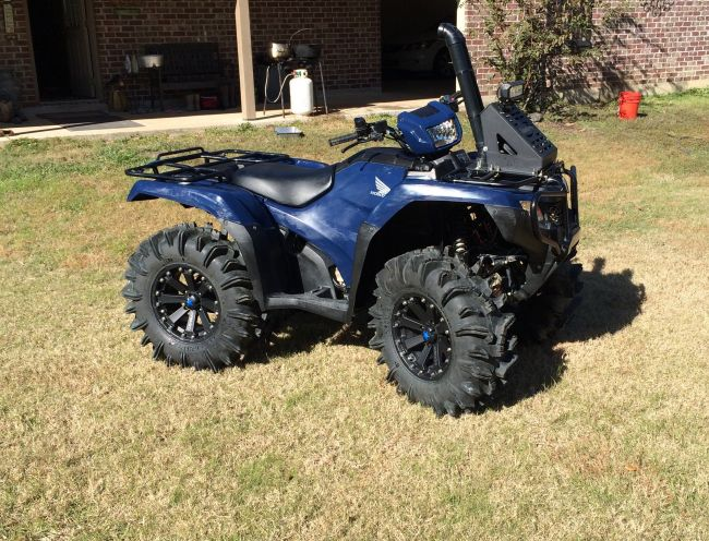 Honda Of Lake Charles >> 2014 Honda Foreman 500 manual shift ATV & Four Wheeler For ...