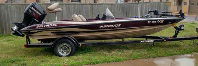 1996 Stratos Bass Boat For Sale in Houma - Louisiana