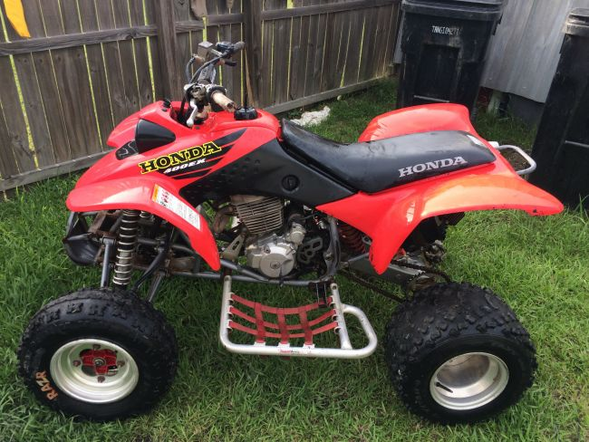 Four Wheelers For Sale Near Me >> 2015 2001 Honda 400ex Atv Four Wheeler For Sale In Baton
