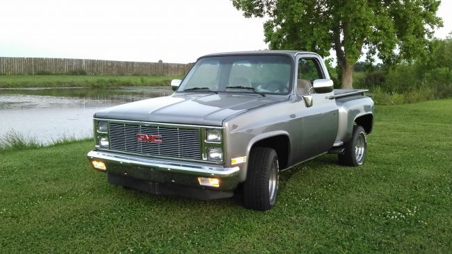 1986 1982 GMC Sierra Stepside Pickup Truck For Sale in Houma