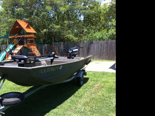 2010 LOWE 1448 Flat / Jon Boat For Sale in Lafayette
