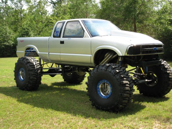 Mud Trucks For Sale >> 1996 Chevy S 10 Mud Truck Pickup Truck For Sale In Outside