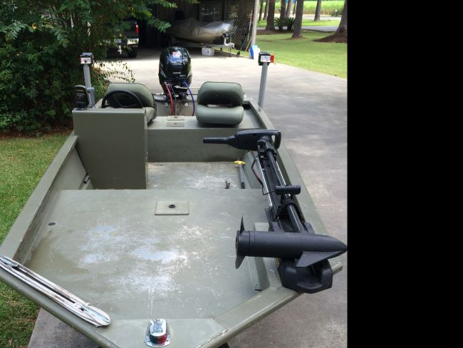 2010 Tracker Grizzly 1448 Flat / Jon Boat For Sale in
