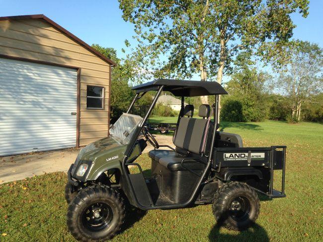 2015 American Sportworks Landmaster LM 400 Golf Cart / UTV