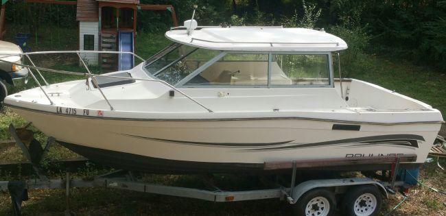 1986 2160 cuddy bayliner trophy Cuddy Cabin For Sale in