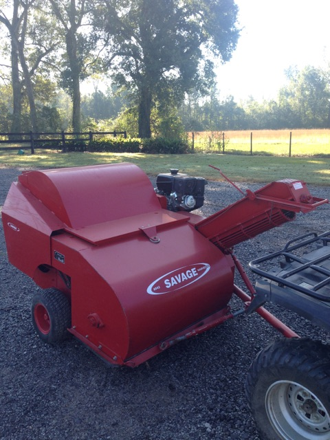 2012 Savage 8042 pecan picker and CP-80 SNT Cleaner