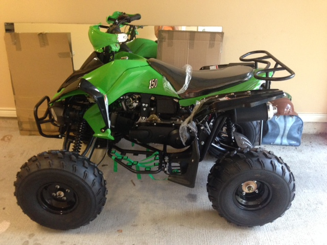 2015 Tao Tao 150cc Sport ATV & Four Wheeler For Sale in