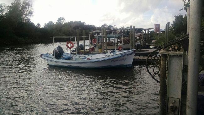 Lafitte Skiff & 150 Suzuki 2 stroke Outboard Motor For S
