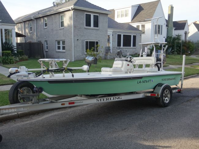 2008 Sterling Tr7 Bay Boat For Sale in New Orleans - Louisiana
