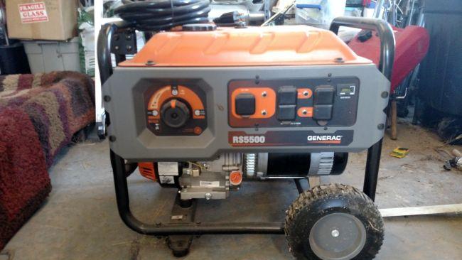 2014 Generac 5500 watt Generator Generator For Sale in