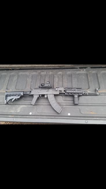 Built Romanian Wasr 10 AK47 AK-47 - Louisiana Sportsman Classifieds, LA