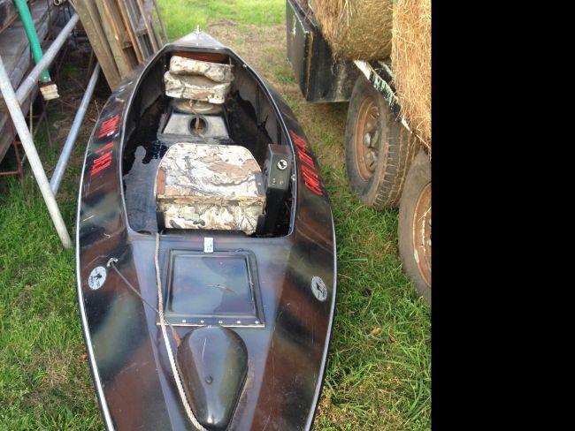 Motorized Kayak Duck / Marsh Boat - Louisiana Sportsman