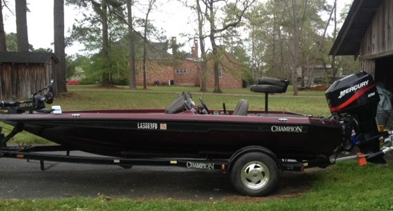2001 Champion 181 Dc Bass Boat For Sale In Alexandria