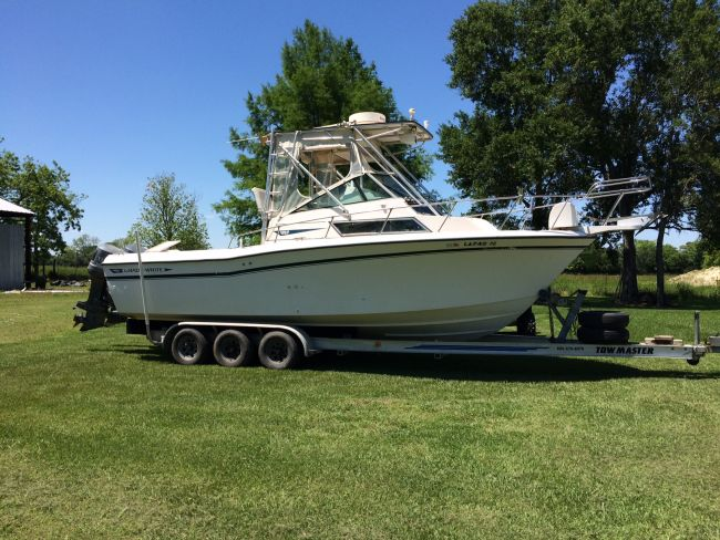 1992 Grady White 25' Sailfish Offshore Boats For Sale in Lake