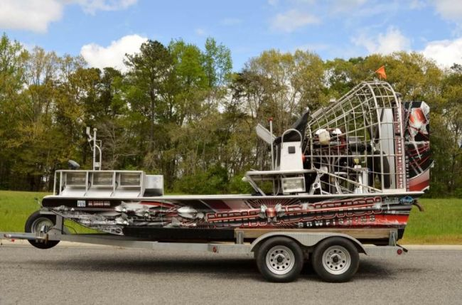 2008 Silver Dollar Airboat Airboat For Sale in Louisiana