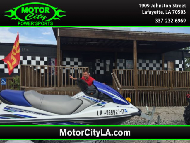 1992 Used 2012 Kawasaki Stx-15f Boats Other For Sale in Lafayette