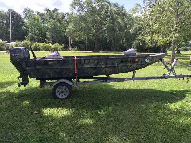 2004 Alweld 1448 semi-v Flat / Jon Boat For Sale in Outside