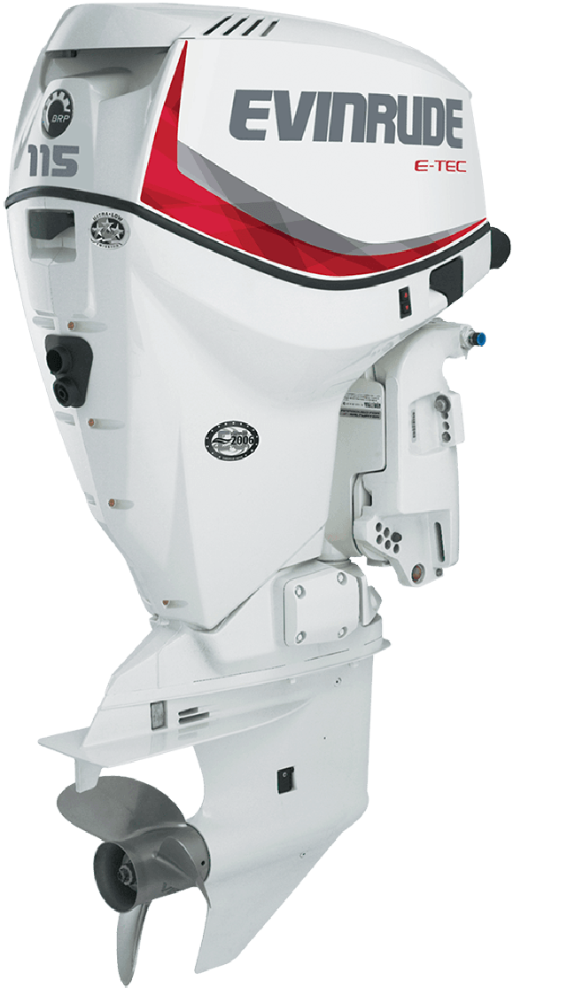 Non Current Year Model Evinrude 115 H P Outboard Motor