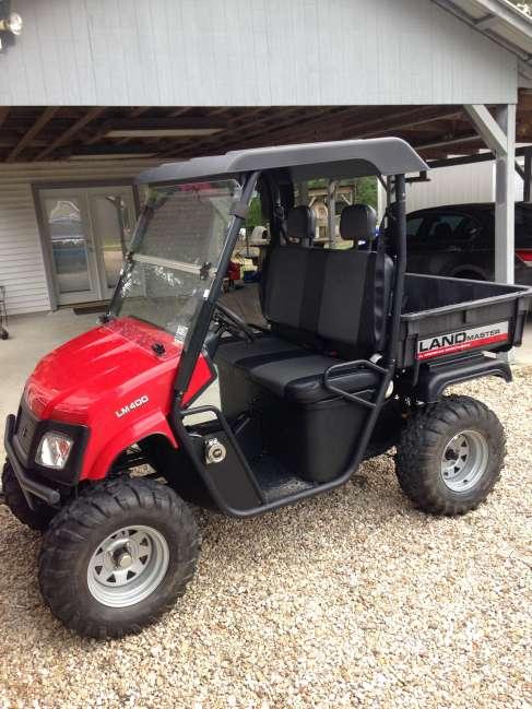 2012 Land master LM 400 13 hp Honda ATV & Four Wheeler For
