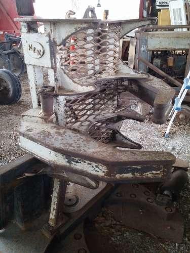 WTT/WTS Tree shear attachment for skid steer, bobcat