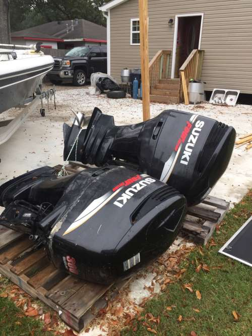 TWIN SUZUKI DF300 OUTBOARDS FOR SALE - Louisiana Sportsman