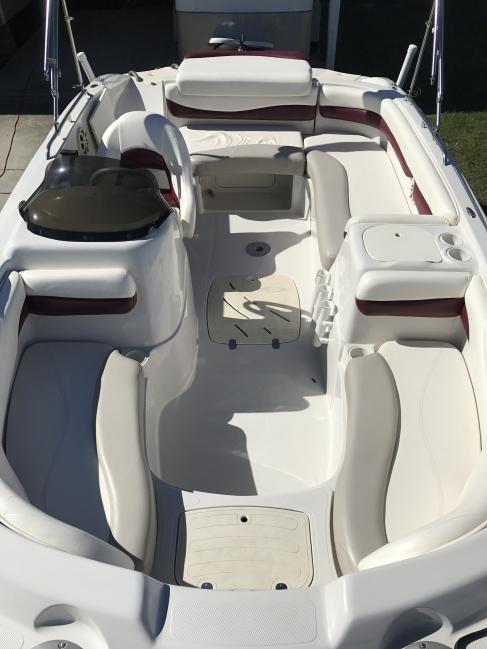 2008 Tracker/195/Tahoe Deck Boat For Sale in Louisiana