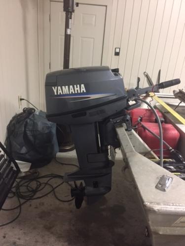 2008 Yamaha 25 HP 2-stroke & 18 HP Longtail Godevil - Louisiana