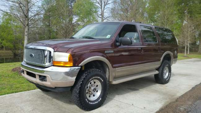 2000 Ford Excursion Limited 4x4 7 3 Diesel Suvs For Sale In Baton