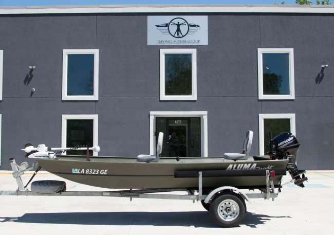 2015 AlumaCraft Flat / Jon Boat For Sale in New Orleans - Louisiana