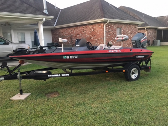 1993 Stratos 260 F/S Fish & Ski For Sale in Southeast