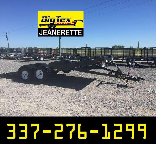 NEW Big Tex (TILTING) Car Hauler - Louisiana Sportsman