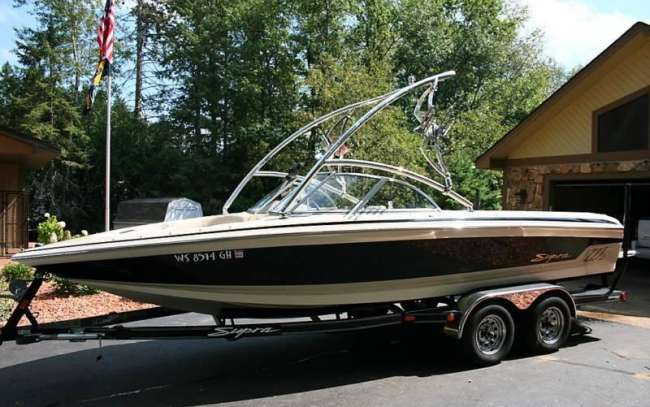2002 Supra Sunsport 21FT Fish & Ski For Sale in Lafayette