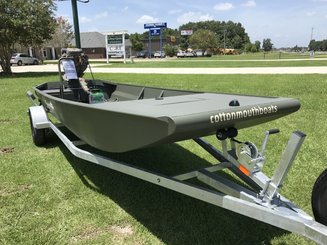 Duck Boats For Sale >> 2018 Cottonmouth Boats Duck Boat For Sale In Baton Rouge Louisiana