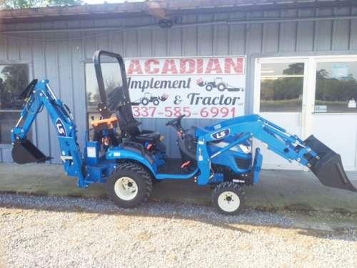 LS MT125 Tractor Loader Backhoe - Louisiana Sportsman