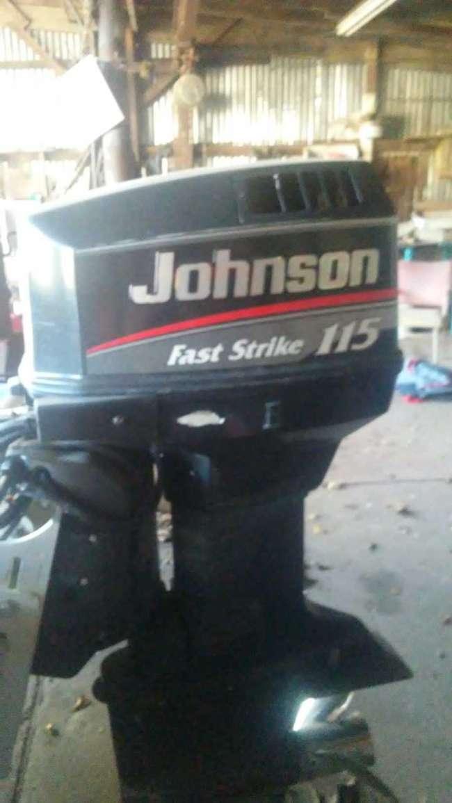 Boat and 115 v4 Johnson fast strike - Louisiana Sportsman