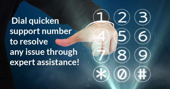 Dial 18445753211 quicken support number to resolve any issue