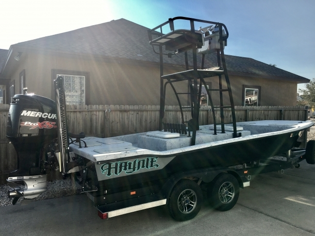 2014 Haynie21cat Bay Boat For Sale In Outside Louisiana