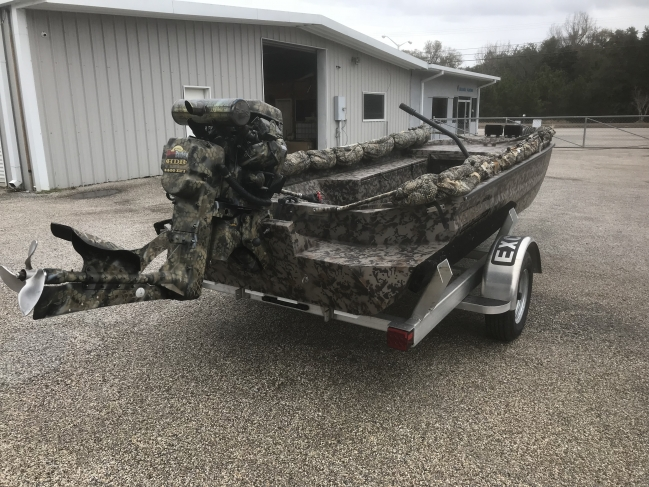 Duck Boats For Sale >> 2018 Excel 1860 Duck Boat For Sale In Outside The Carolinas