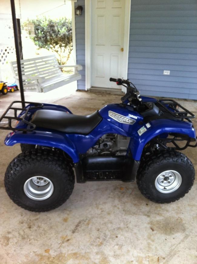 2007 Yamaha Grizzly 125 ATV & Four Wheeler For Sale in Baton