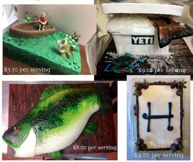 Pleasing Grooms And Birthday Cakes Louisiana Sportsman Classifieds La Funny Birthday Cards Online Bapapcheapnameinfo