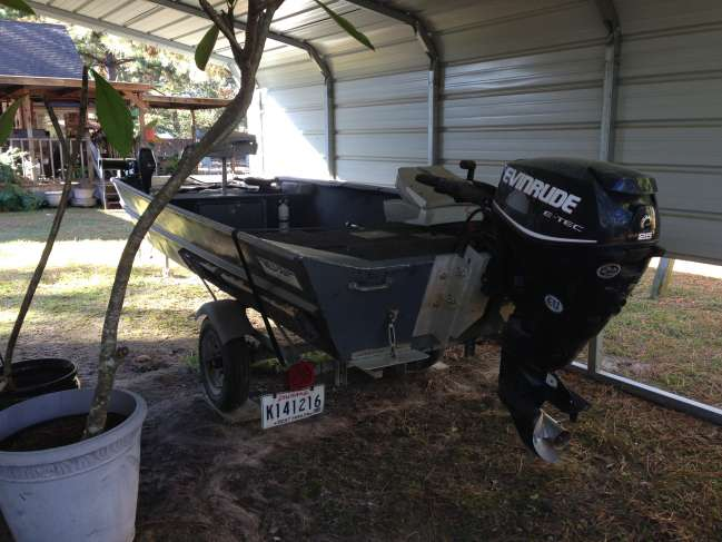Weld Craft with Evinrude Etec for sale - Louisiana Sportsman