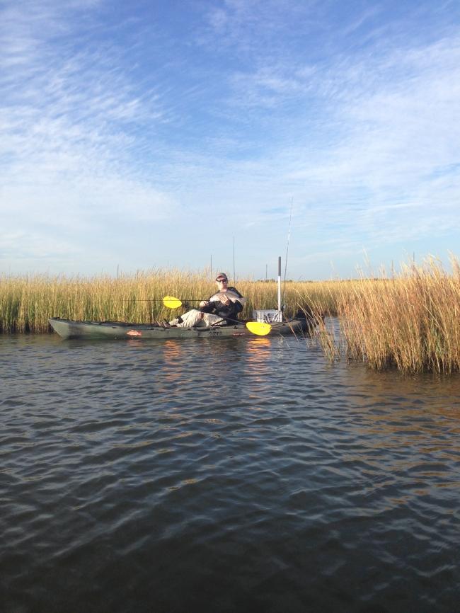 Ocean Kayak Trident 13 with Rudder & Fish Finder - Louisiana