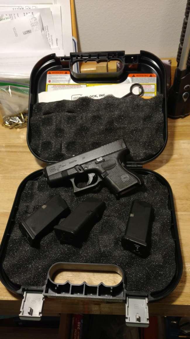 Glock 27 Gen 4  40cal - Louisiana Sportsman Classifieds, LA