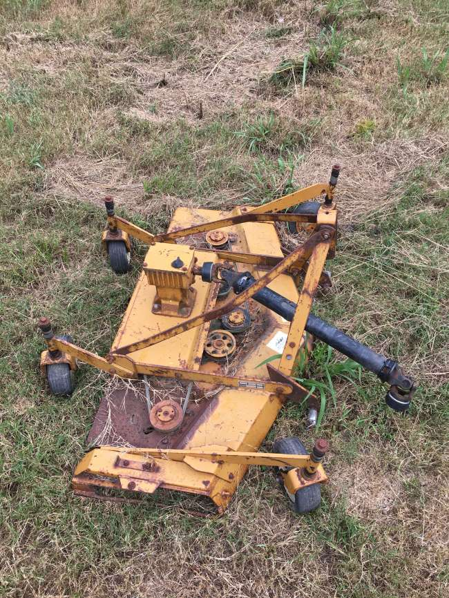 1999 Finishing mower attachment / RM550-1 / Woods Lawn Mower