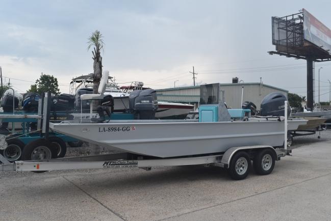 2017 Custom Aluminum Flat 20 ft. Flat / Jon Boat For Sale in