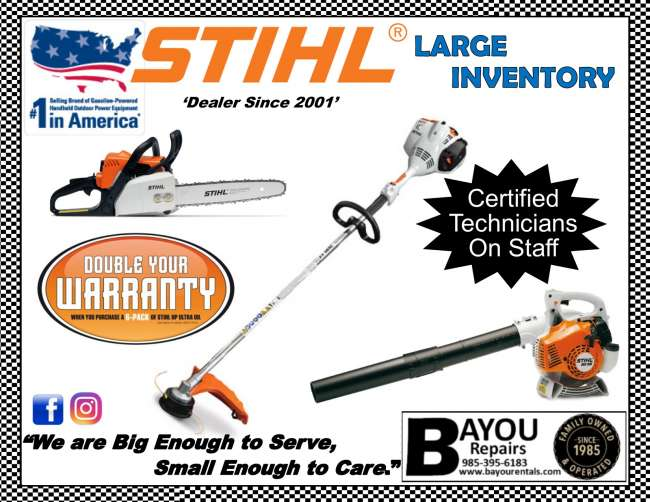 Stihl Equipment for All Your Landscaping Needs* - Louisiana
