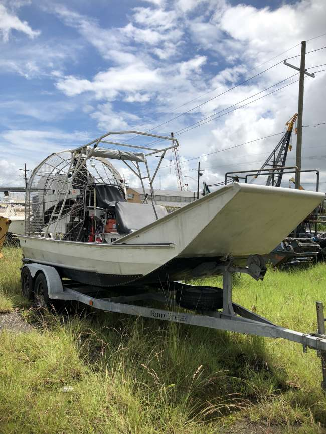 2002 Thibodeaux 15 5 X 7 5 Alum 2002 Airboat Airboat For
