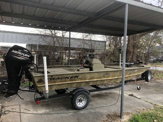 2017 Tracker Grizzly 1648 Bass Boat For Sale in Louisiana