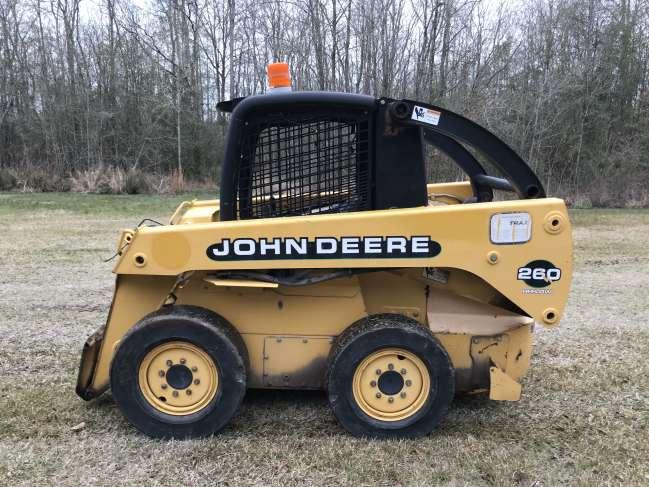2002 John Deere Skid Steer For Sale in Baton Rouge