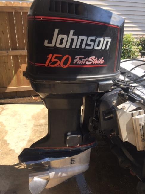 Johnson Fast Strike 150 HP Outboard - Louisiana Sportsman